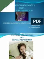Efectos de Farmacos en El Srespiratorio