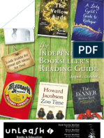 Spring Reading Guide from Unleash Books