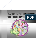 Basic Introduction to Food Hygiene.