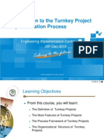 A-00 Introduction to the Turnkey Project Implementation Process