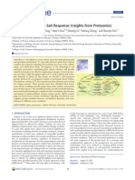 Mechanisms of Plants Salt Reponse