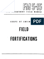 FM5-15.44 WAR DEPARTMENT FIELD MANUAL CORPS OF ENGINEERS - FIELD FORTIFICATIONS - WAR DEPARTMENT
