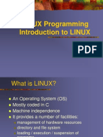 Linux Programming Unit I