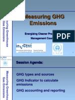 Measuring GHG Emissions - Presentation