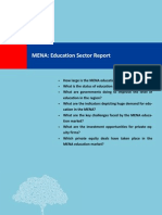 Education Report MENA