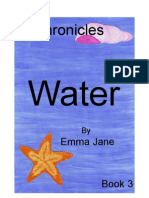Book 3 - Water (Cover)
