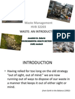 Topic 1-Waste Management-Introduction