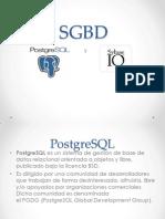 PostgreSQL y Sybase IQ