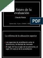 El futuro de la evaluación - Coneau - Baires 7 junio 2005