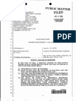12-J-10703 Petranovich California State Bar ORDER