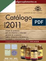Catalogo Solgar 2012