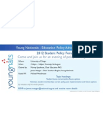 Young Nats - Education Policy Advisory Group