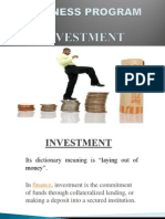 Investment Ppt