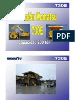 Komatsu 730e