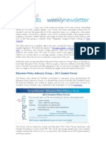 Weekly Newsletter #23 2012