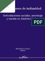 32284537 Marisol de La Cadena Formaciones de Indianidad