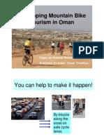 Developing mountain bike tourism in Oman