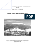 Case study of Babia Gora National Park/ Biosphere reserve Poland