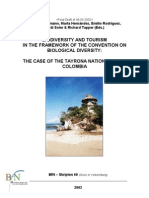 Case study of the Tayrona National Park/Colombia