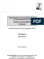 German Tourism market to Cyprus