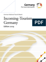 Incoming Tourism Deutschland 2009