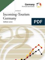 Incoming Tourism Deutschland 2010
