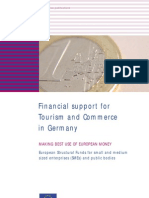 Financial support for Tourism and Commerce in Germany