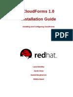CloudForms 1.0 Installation Guide en US