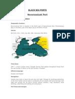 Black Sea Ports