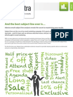 Email marketing that delivers results (Adestra) -JUL12