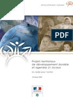 DD Territoire _guide de référence Agenda21 _résumé