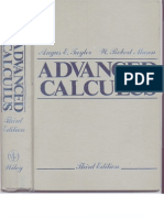 PART 1 Advanced.calculus .3rd.edition