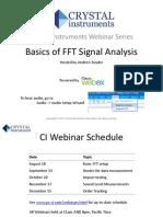 Basics of FFT Signal Analysis