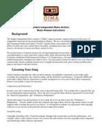OIMA Music Release