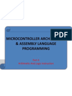 Chapter2-Microcontroller Architecture & Assembly Language Pt3