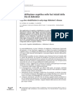 Alzheimer Stimolazione Cognitiva Elenco