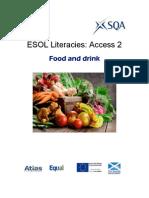 ESOL Literacies Access 2 Food and Drink
