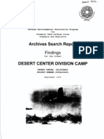 Camp Desert Center History