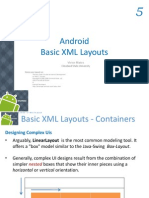 Android XML Layouts