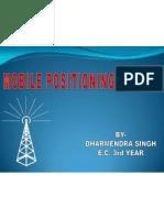 Mobile Postioning System