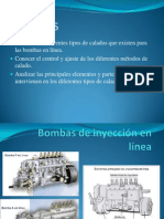 Calado de Las Bombas de Inyeccion en Linea.