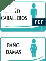 Aviso-Baños