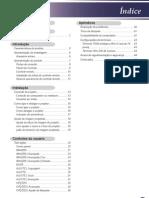 Manual Projetor LG