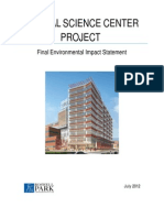 Roswell Park Clinical Sciences Center Final EIS