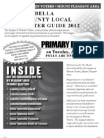 Primary Voter Guide 2012