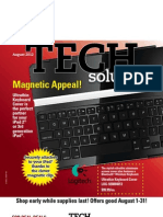 August 2012 Tech Solutions Flyer