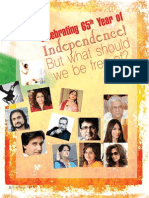 The Cover Story - Celebrating 65th Year Of Independence. But what should we be free of?