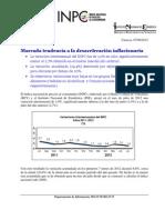 Reseña  INPC julio 2012