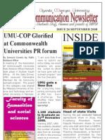 Uganda Martyrs University Communication Newsletter