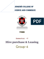 Project Hire Purchase and Leasing